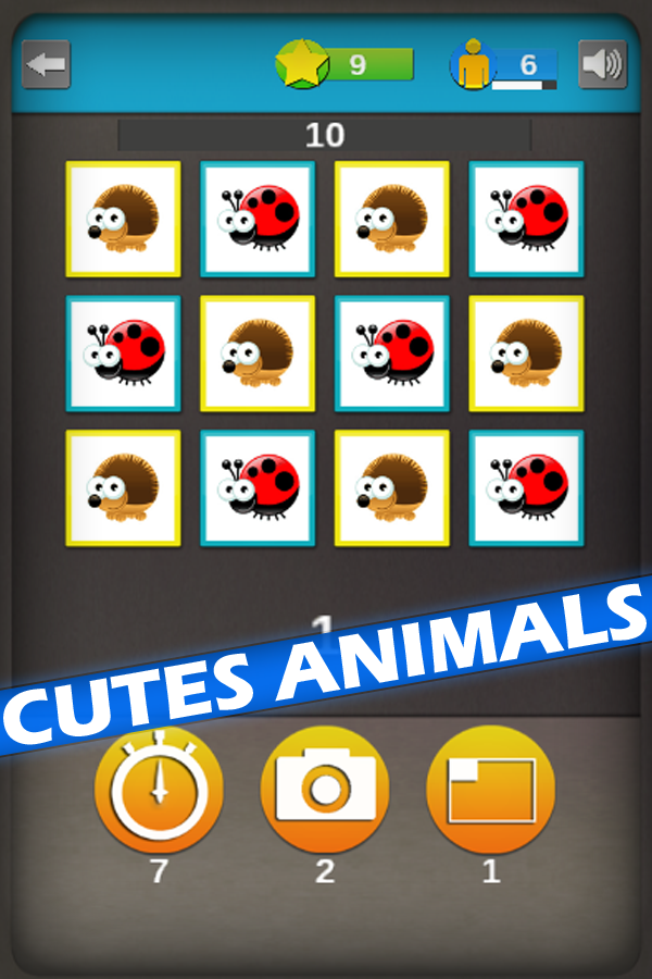 Animals Memory Rush- screenshot