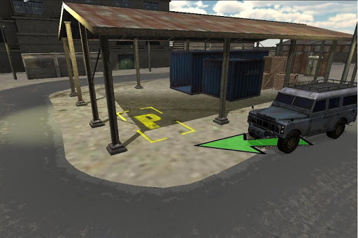 棚戶區停車場3D