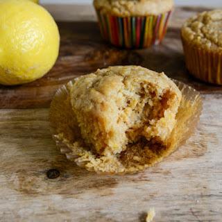 Brown Sugar Lemon Mascarpone Muffins