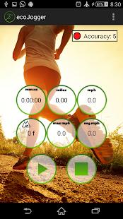 ecoJogger - 運行應用程序