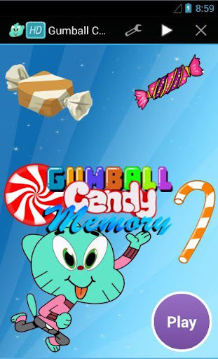 Gumball Memory Candy