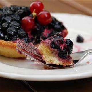 Fresh Blueberry Pie III
