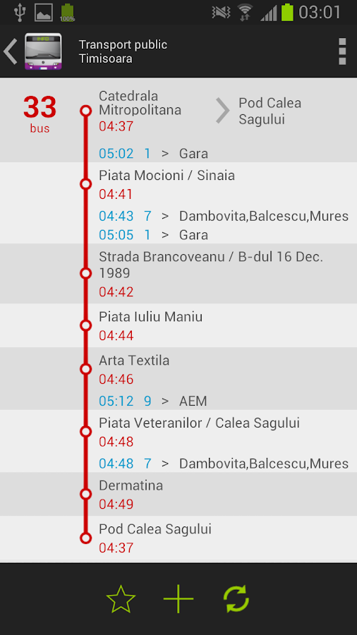 Public Transport - Timisoara - screenshot