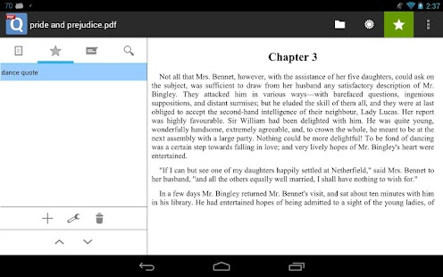 qPDF Viewer Free PDF Reader - screenshot thumbnail