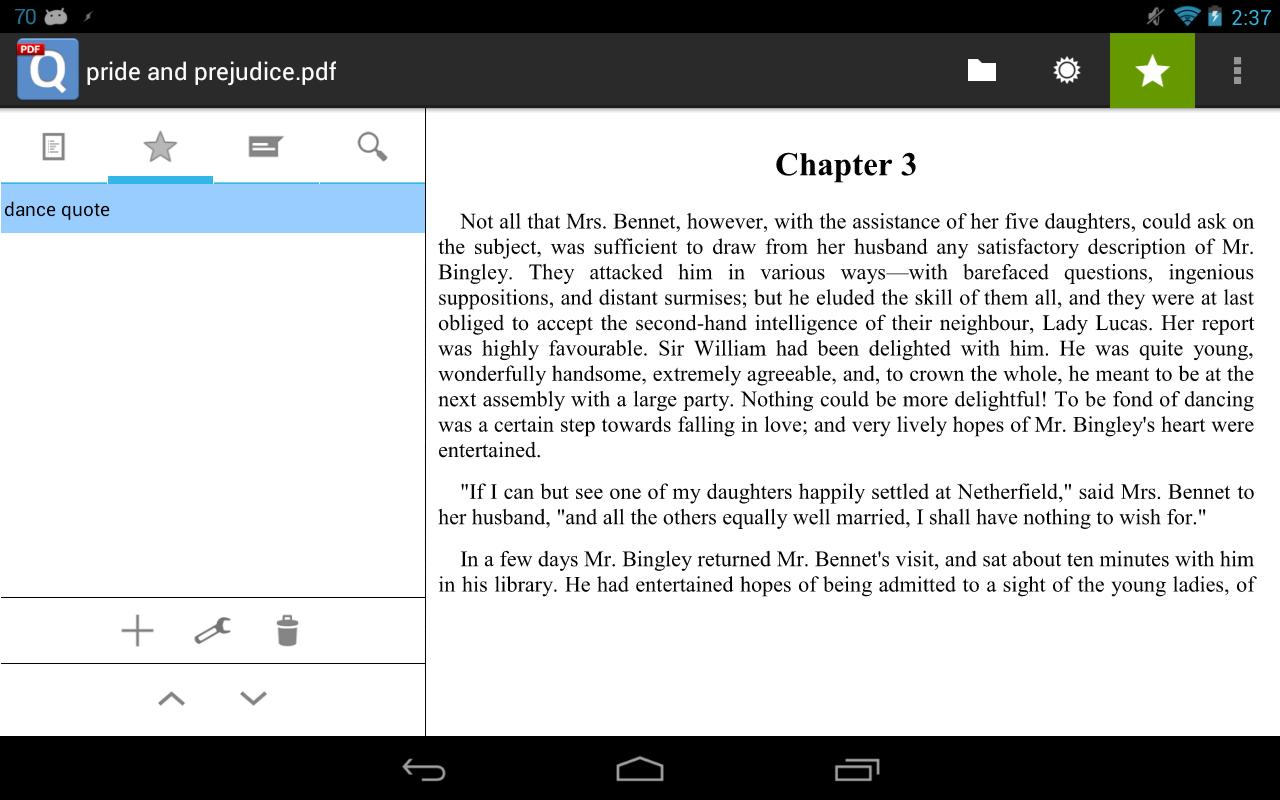 qPDF Viewer Free PDF Reader- screenshot