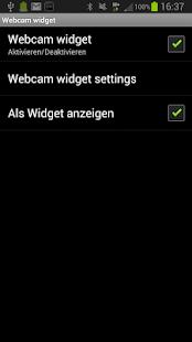 SmartWatch WebCam Widget