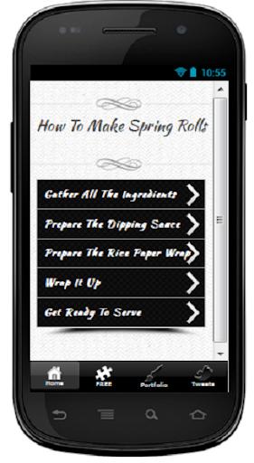 Make Spring Rolls