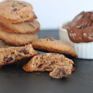 Nutella Peanut Butter Chocolate Chip Cookies