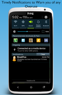 BreakFree, Monitor Phone Usage - screenshot thumbnail