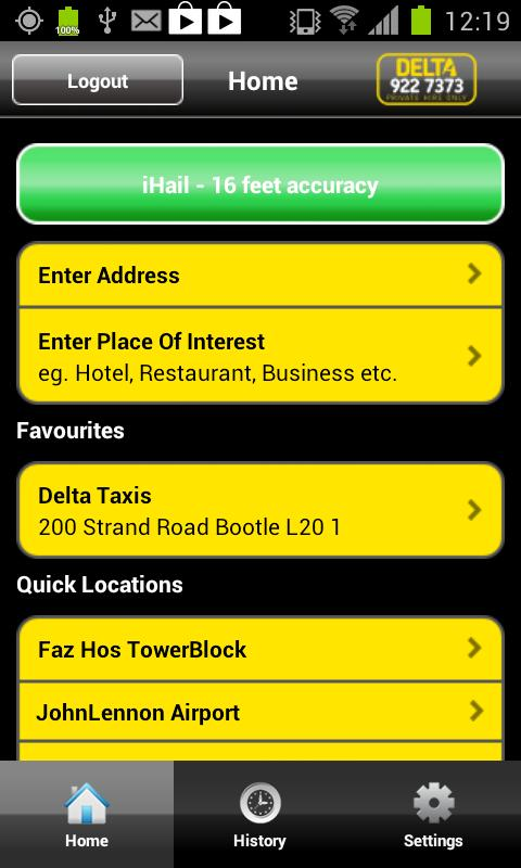 Delta Taxis- screenshot
