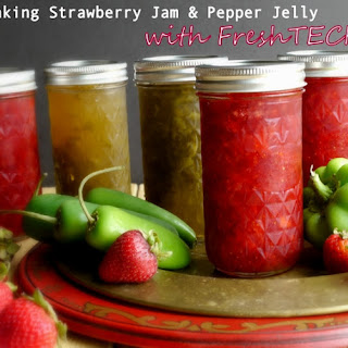 Strawberry Jam & Pepper Jelly Recipe