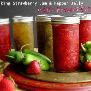 Strawberry Jam & Pepper Jelly.