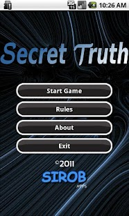 Secret Truth Lite - screenshot thumbnail