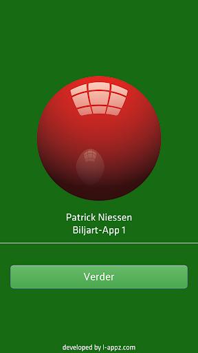 Patrick Niessen Biljart-App