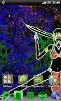 Screenshot of Go Launcher EX Theme Dark Elf