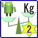 Kg_tool 2 (Weight calculation) icon