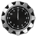 10 Carbon Metal Clocks icon