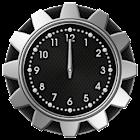 10 Carbon Metal Clocks icon