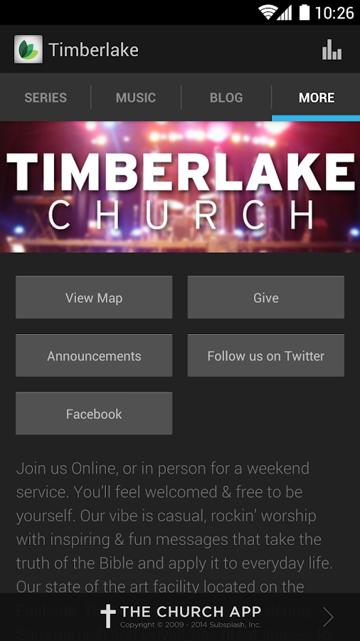 Timberlake Church - screenshot