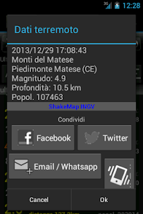Terremoti Italia - screenshot thumbnail