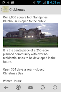 Sandpines Golf Links- screenshot thumbnail