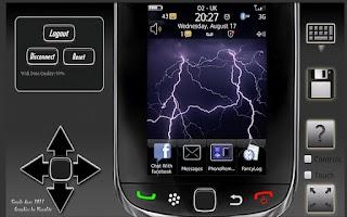 Screenshot of Remote For Blackberry Phones