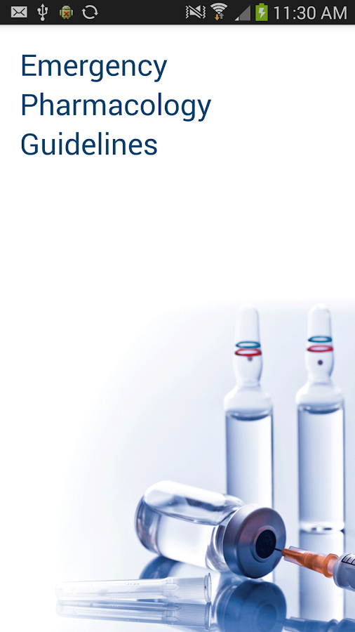 paramedic and emergency pharmacology guidelines