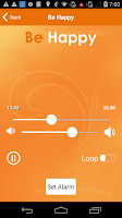 Screenshot of Be Happy - Hypnosis Relaxation