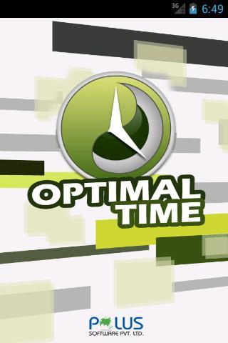 Optimal Time
