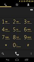 Screenshot of Arctic Yellow CM11 AOKP Theme