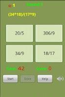 Screenshot of Rapid Math