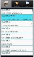 Screenshot of Indian History, Book & Quiz