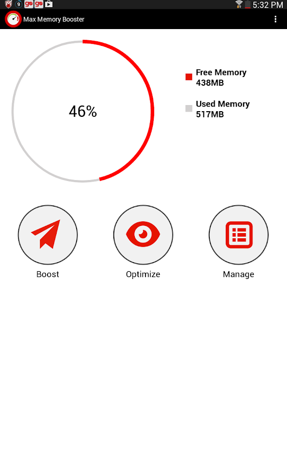 Max Memory Booster- screenshot