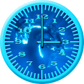 Whale Humpback 4 Analog Clock