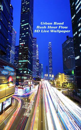 Urban Road Rush Hour Flow 3D