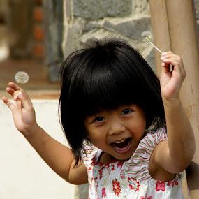 Happy by Glenn Valentino - Babies & Children Child Portraits