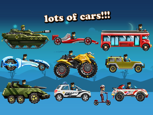 Android/PC/Windows 용 Up Hill Racing: Car Climb  (apk) 무료 다운로드 screenshot