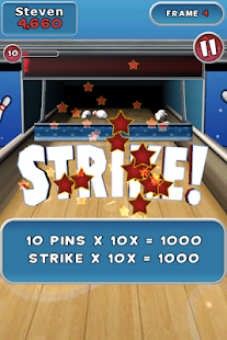 Spin Master Bowling Screenshot 1