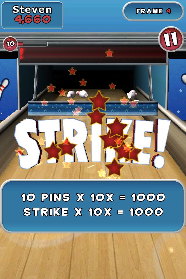 Spin Master Bowling screenshot #1
