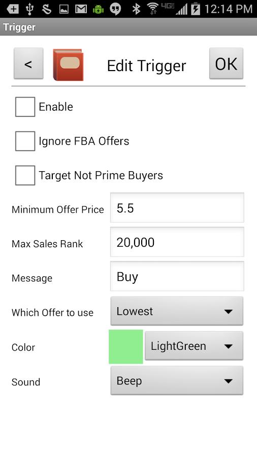 FBAScan - For Amazon Sellers! - screenshot