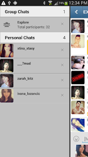 Instachat- screenshot thumbnail