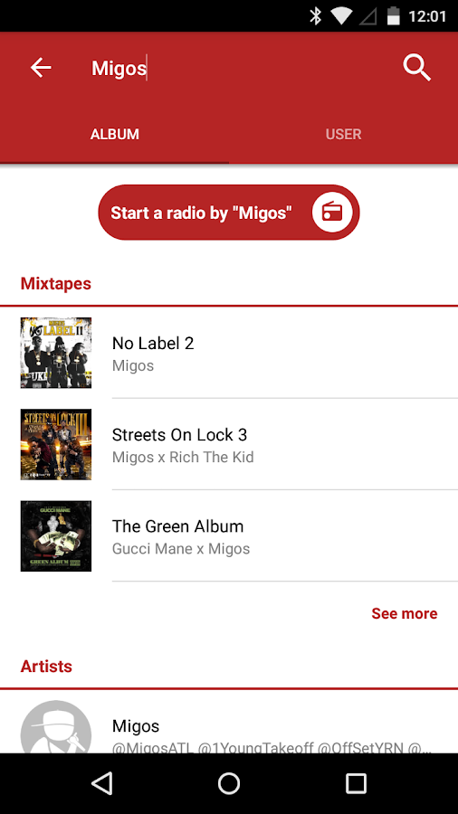 My Mixtapez Music & Mixtapes - screenshot