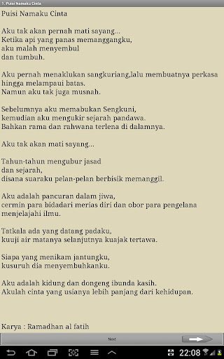Kumpulan Puisi Cinta Terbaik