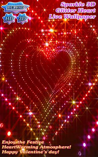 Sparkle Glitter Heart Tunnel