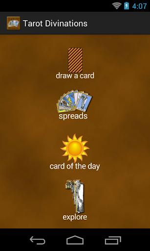 Tarot Divinations