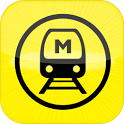 DELHI METRO MAP AND RATE CHART icon