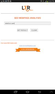 SEO Webpage Analysis-Site Rank|玩生產應用App免費|玩APPs