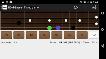 Screenshot of NDM-Basse (Music Notes)