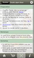 Screenshot of RECÉPTEUR