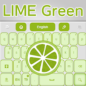 Keyboard Lime Green